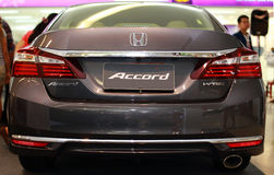 Honda Accord. The Honda Accord is a series of automobiles manufactured by Honda since 1976, best known for its four-door sedan variant, which has been one of the Royalty Free Stock Photo
