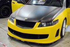 Honda Accord VII nell'Expo 2012 del croco Immagini Stock Libere da Diritti