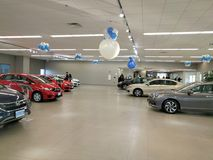 Honda auto dealer Royalty Free Stock Images