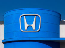 Honda Autombile Dealership Sign Royalty Free Stock Photo