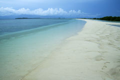 Honda bay beach palawan island philippines Stock Image