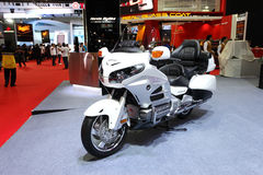 Honda BigBike Goldwing Motorcycle on display Stock Photo