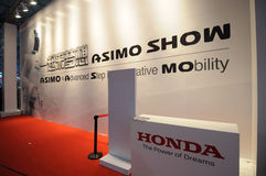 Honda booth Stock Images