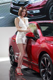 Honda booth Royalty Free Stock Images