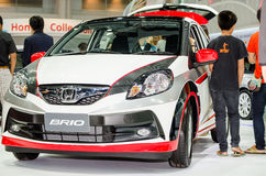 Honda BRIO at Thailand motor show. Stock Photography