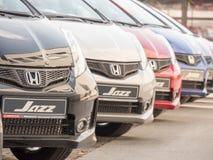 Honda cars Stock Photography