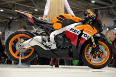 HONDA CBR Royalty Free Stock Images