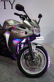 Honda CBR 250R Super Bike at Auto World Expo 2011. On display Royalty Free Stock Photos