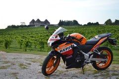 Honda CBR250R Стоковая Фотография