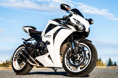Honda CBR-1000RR Royalty Free Stock Images
