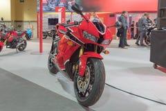 Honda CBR 600 RR på skärm Royaltyfria Foton