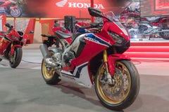 Honda CBR 1000 RR su esposizione Immagini Stock Libere da Diritti