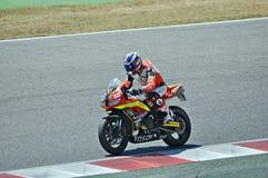 Honda CBR 600-Team TCXB Enevats Immagini Stock Libere da Diritti
