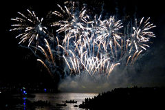 2016 Honda Celebration of Light in Vancouver, Canada Royalty Free Stock Images