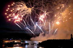 2016 Honda Celebration of Light in Vancouver, Canada Royalty Free Stock Photography