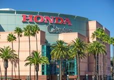 Honda Center yttre sikt Fotografering för Bildbyråer
