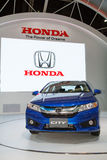 Honda City car on display Royalty Free Stock Photography