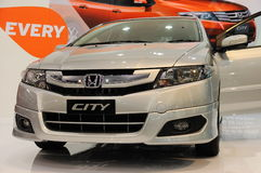 Honda City On Display Royalty Free Stock Photo