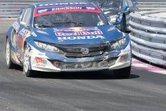 Honda Civic управляемое #16 Оливером Eriksson Стоковая Фотография