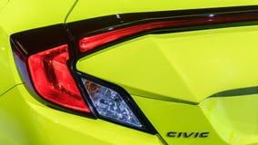 2019 Honda Civic στοκ φωτογραφίες με δικαίωμα ελεύθερης χρήσης