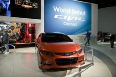 Honda Civic 2011 en el NAIAS Imagen de archivo