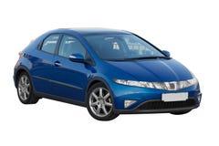 Honda Civic azul 5d Imagen de archivo libre de regalías