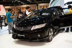 Honda Civic car and modulo  on display Royalty Free Stock Image