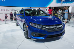 Honda Civic coupe Royalty Free Stock Images