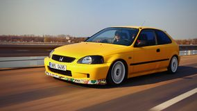 Honda Civic EJ9 Stock Photo