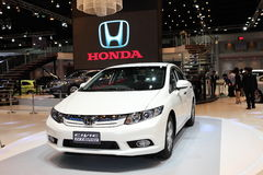 BANGKOK - MARCH 26: Honda Civic Hybrid car on display at The 34th Bangkok International Motor Show on March 26, 2013 in Bangkok, T Stock Photography