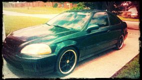 1998 Honda stock images