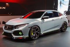 2017 Honda Civic pierwowzoru samochód Zdjęcia Royalty Free
