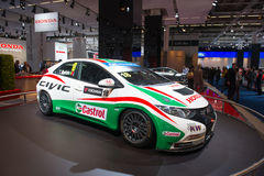 Honda Civic racing car Stock Photos