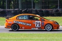 Honda Civic racing Royalty Free Stock Photos