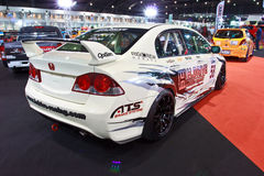Honda Civic show at the second Bangkok international auto salon Stock Photos