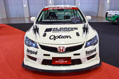 Honda Civic show at the second Bangkok international auto salon Stock Image