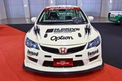 Honda Civic show at the second Bangkok international auto salon Stock Image