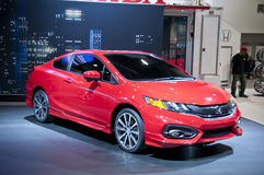 2014 Honda Civic-Si bij SEMA Stock Foto