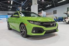 Honda Civic Si na pokazie Obrazy Royalty Free