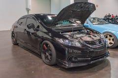 Honda Civic Si na pokazie Zdjęcie Royalty Free