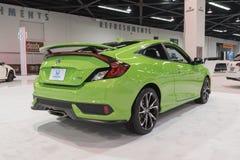 Honda Civic-Si op vertoning Royalty-vrije Stock Foto's