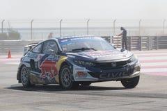 Honda Civic som är drivande vid #93 Sebastian Eriksson Arkivfoton