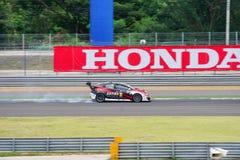 Honda Civic TCR av Team Eakie BBR Kaiten i de 2016 TCRNA Interna Royaltyfri Fotografi