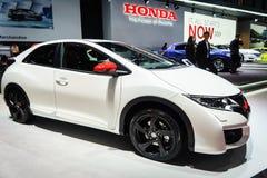 Honda Civic typ R, Motorowy przedstawienie Geneve 2015 Obrazy Royalty Free