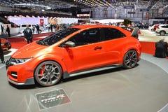 Honda Civic Type R concept car Stock Photography