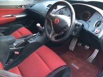 Honda Civic type R FN2 interior Royalty Free Stock Image