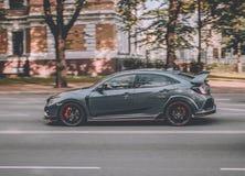 Honda Civic Type-R in RIga royalty free stock photo