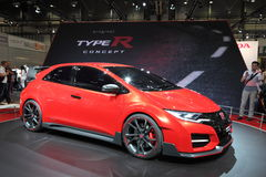 Honda Civic TypeR concept car Stock Photos