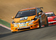 Honda Civic und Integra BTCC Lizenzfreie Stockfotos