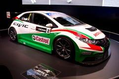 Honda Civic WTCC Γενεύη 2014 Στοκ εικόνα με δικαίωμα ελεύθερης χρήσης